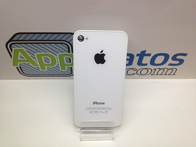 CAMBIO TRASERA IPHONE 4 BLANCO